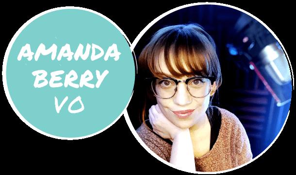 Amanda Berry VO Banner Logo